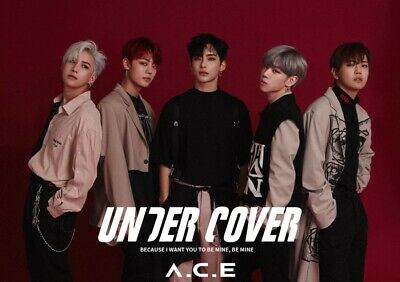 A.C.E UNDER COVER 2nd Mini Album CD+POSTER+Photo Book+Card+Sticker K-POP SEALED
