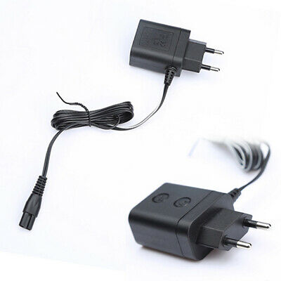 UK_ Shaver Charger Adapter Power Razor Lead Cord EU Plug for Philips Norelco
