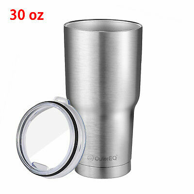Stainless Steel Double Wall Insulated travel Tumbler Coffee mug with Lid - 30 OZ
