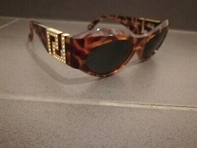9cd65dd9880b Vintage Gianni Versace Mod T74/C Col 869Rh Honey Tortoise Sunglasses With  Case