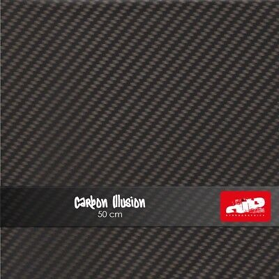 CARBON ILLUSION Hydrographics Film - Hydro Dipping FOLDED film CARBON
