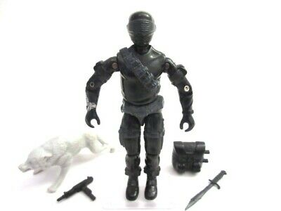 Action Force GI Joe Cobra ☆ SNAKE EYES v2 ☆ Figure Rare Hasbro Vintage 100% 1985