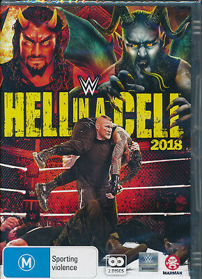 Hell In A Cell 2018 DVD NEW Region 4 World Wrestling