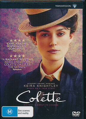 Colette DVD NEW Region 4 Keira Knightley