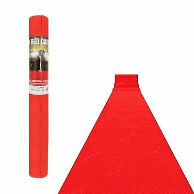 15ft Hollywood VIP Red Carpet Aisle Prom Night Party Floor Runner Decoration