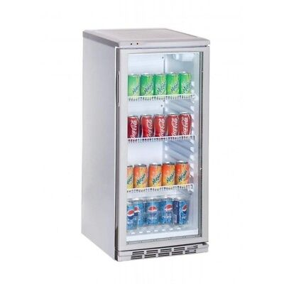 Fridge for Soft Drinks with Port to Glass Series Am - 100 Liters