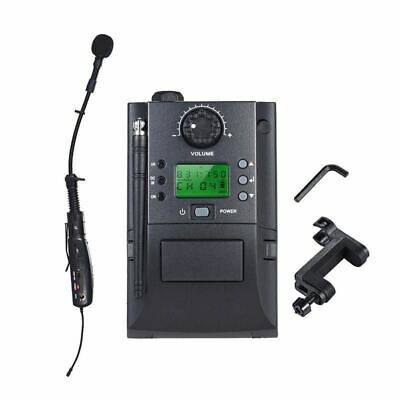 32 Channel UHF Musical Instrument Wireless Microphone System for Violin Portable