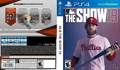 Mlb The Show 19 (Playstation 4 Ps4) Replacement Case, No Game