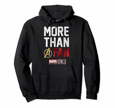 Marvel Avengers More Than A Fan 2019 Graphic Hoodie