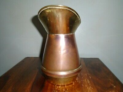 A Superb Small Arts and Crafts Copper and Brass Jug.