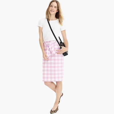 Helpful J Crew Xs Skirt White Pink Butterscotch Flowers Pockets Lined 100% Cotton H8 Clothing, Shoes & Accessories Skirts