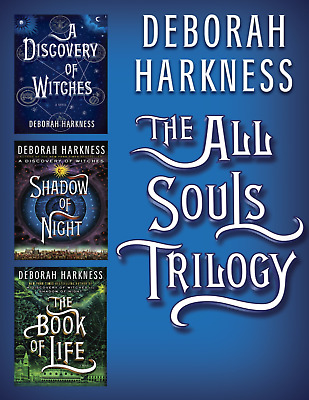 All Souls Trilogy: The Book of Life by Deborah Harkness  3 IN 1 [P.D.F,e-Pub]