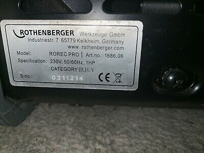 rothenberger Refriderant Recovery Unit