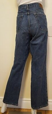 Calvin Klein Womens Size 12 Distressed Classic Boot Cut Jeans Inseam 30