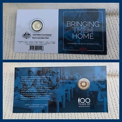 2019 $2 Uncirculated coin 'C' Mintmark Bringing Them Home Repatriation