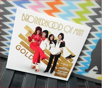 3xCD Brotherhood of Man/Best of New Sealed 2019 Fast Freepost Gold Eurovision