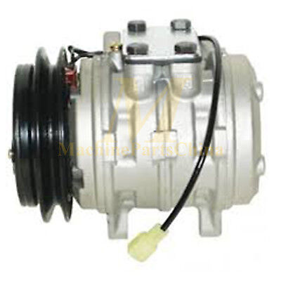 NEW AC COMPRESSOR PACKAGE  KUBOTA 10P08E L4610 TRACTOR