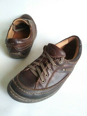 5c87b241f5 KALSO EARTH SHOE INTEGRATE 2 Lace Up Oxford Sneakers Brown Leather Womens  SZ 7.5