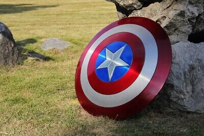 Captain America Shield Marvel Avengers Infinity War Endgame Metal Replica 1:1