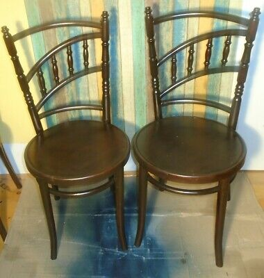 Thonet vitage  chairs made in Czechoslovakia