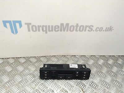 2004 BMW E46 M3 Heater control switches