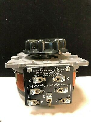 Staco Energy Products Company 2510 - 240V - 50/60HZ - 10A Variable Transformer