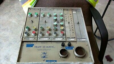 VINTAGE Traffic Signal Traff-O-Matic Controller Untested WE TAKE OFFERS