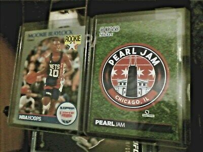 8fb14391b15 Mookie Blaylock 1990-91 Rookie Card + Pearl Jam Chicago 2018 Sticker Card