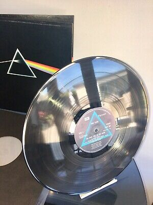 Pink Floyd - Dark Side Of The Moon Ex 1973 Shvl 804 2 Posters Vinyl Lp Superb !!