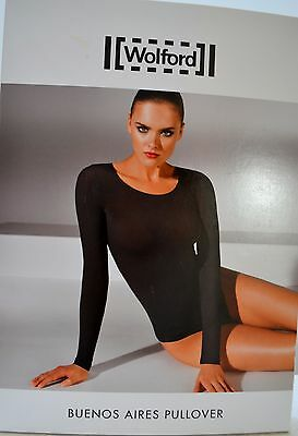 WOLFORD Buenos Aires  Damen Pullover dark orchid Small pudrige Optik