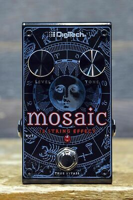 DigiTech Mosaic Polyphonic 12-String Effect Pitch Shifting Doubling Effect Pedal