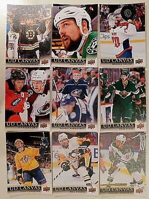 2018-19  UD Upper Deck Canvas Series 1 & Series 2 ***U-Pick / Choisir*** 18-19