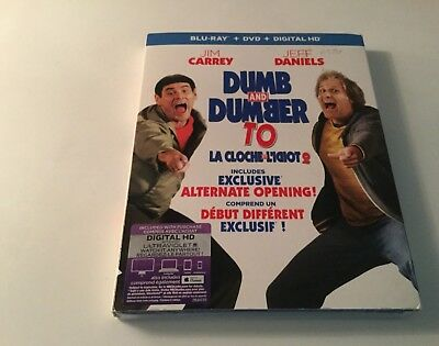 Dumb And Dumber To  (Blu-Ray+ Dvd + Digital Hd )  Brand New Sealed