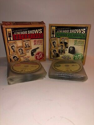 Old Time Radio Shows Radio Classics Collectible Series Lot Of 2