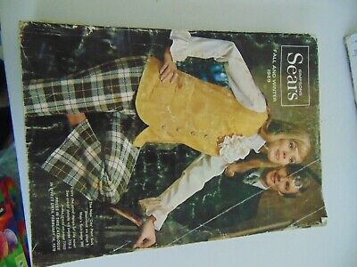 1969 Simpson's Sears  Fall And Winter Catalogue