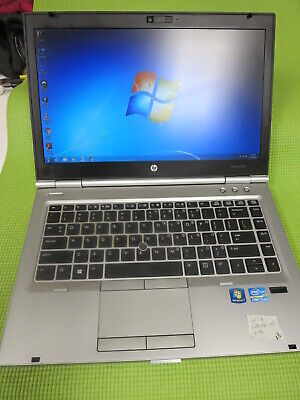 HP Elitebook 8470p i5-3320m 2.6GHz 8GB, 128GB SSD (Radeon 1GB) w/Batt & Charger