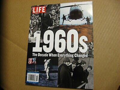 LIFE 2019, The 1960's, The Decade When Everything Changed, New Great Magazine