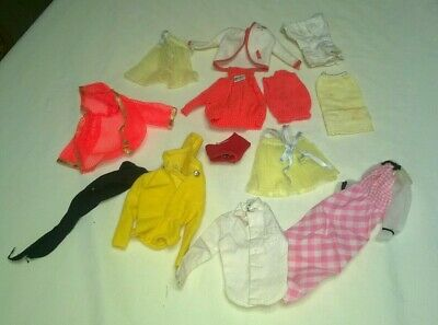 Vintage Mod Tagged Barbie Clothing Lot Tlc Cheap $16.99