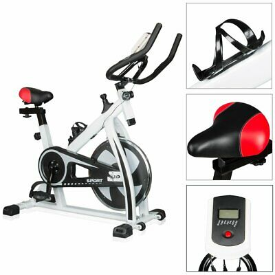 Bicycle Cycling Fitness Gym Exercise Stationary Bike Cardio Workout Indoor 35lbs