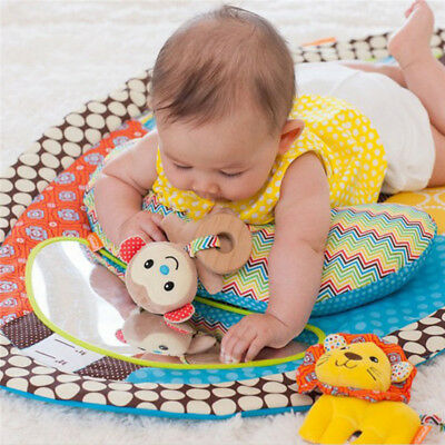 1Pc Baby Height Game Blanket Home Kids Play Carpet Mat With Mirror Toy Washable