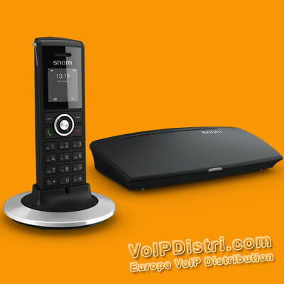 Snom M325 Cordless Voip Dect Telephone with Network Sip Basis + Hac Handset