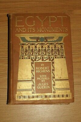 Egypt and its Monuments by Robert Hichens With Pictures by Jules Guerin 1908