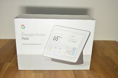 Google Home Hub with Google Assistant - Charcoal - GA00515-US - BRAND NEW SEALED