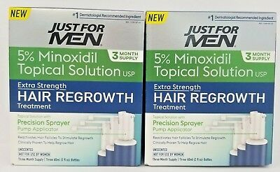 Minoxidil 5% Extra Strength Hair Regrowth Treatment, 12 oz 6 Month Supply