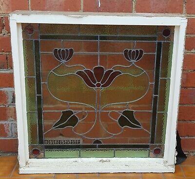 Timber Stained Glass Leadlight Window