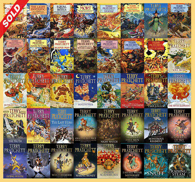ALL IN 1 The DISCWORLD Series By Terry Pratchett (41 MP3 Audiobook Collection)