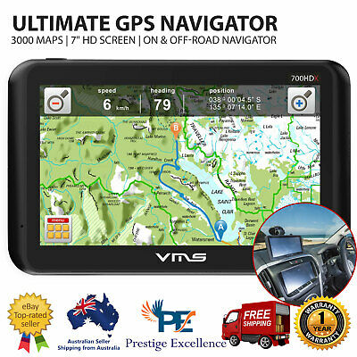 "7"" Truck Car GPS Navigator 32GB Navigation System 3000 Maps VHS Off-Road Mapping"