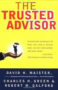 The Trusted Advisor by Maister, David H., Green, Char... | Book | condition good