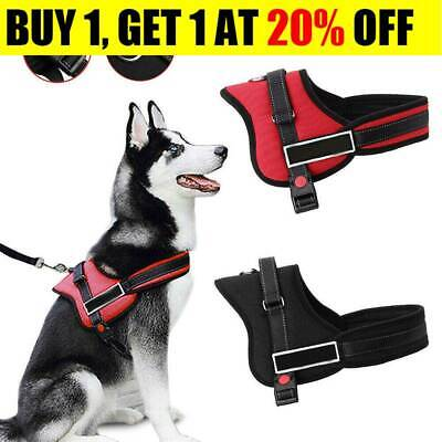 No-pull Dog Harness Outdoor Adventure Pet Vest Padded Handle-Small-Extra Large S