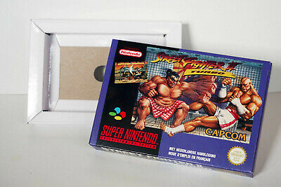 Boîte SNES – Street Fighter 2 Turbo [FAH]
